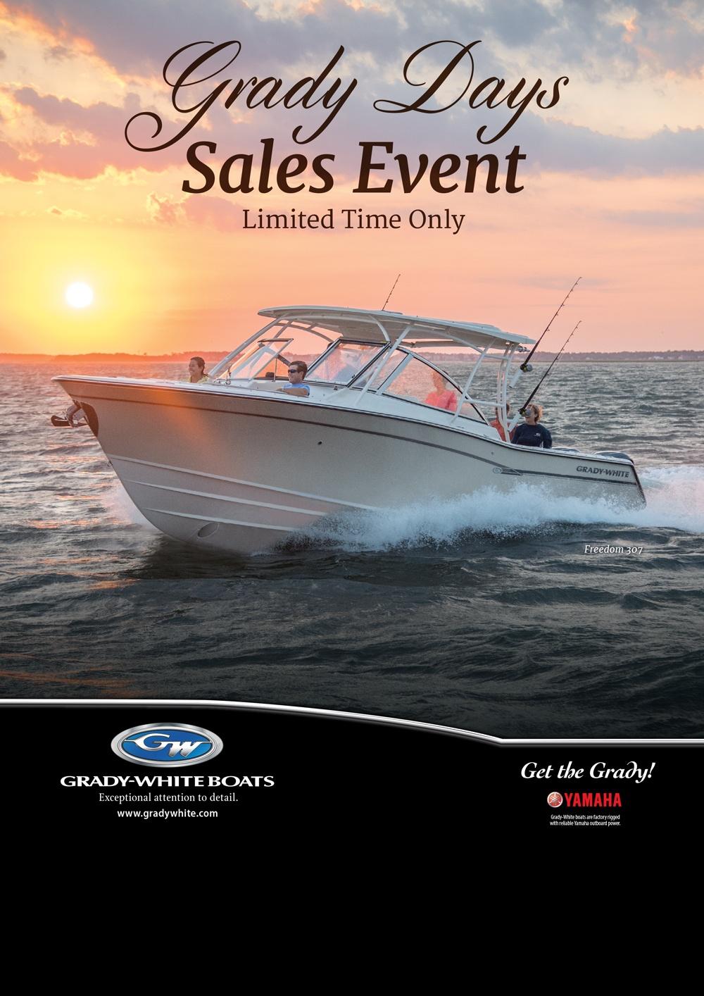 Grady-White Summer Savings & Yamaha Promotion